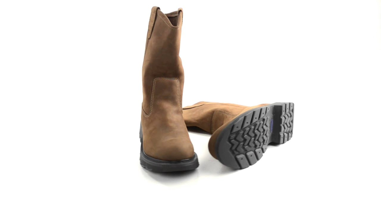 c6674764b7a Wolverine Slip-Resistant Wellington Work Boots - 10