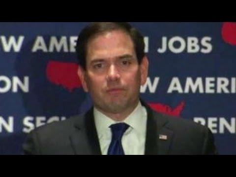 Marco Rubio suspends his presidential campaign