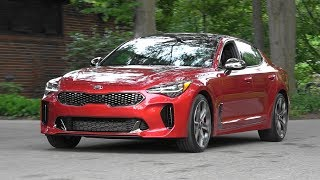 2018 Kia Stinger in motion