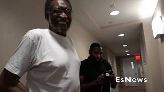 Adrien Broner Late Night Work Out Before Vargas Showdown EsNews Boxing