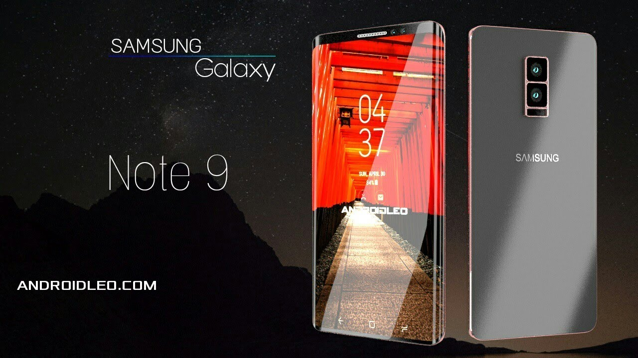 Samsung Galaxy Note 9 Edge With 12gb Ram Introduction Concept Video