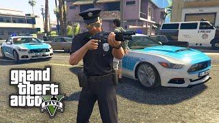 UNGLAUBLICHER POLIZEI EINSATZ ! - GTA 5 REAL LIFE MOD