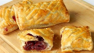 How To Make Cherry Puff Pastry Easy Recipe