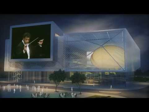Tolerance Museum - Jerusalem - 3d architectural movie