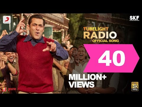 Tubelight  RADIO SG  Salman Khan  Pritam Kabir KhanAmitabh Bhattacharya Latest Hit Sg 2017