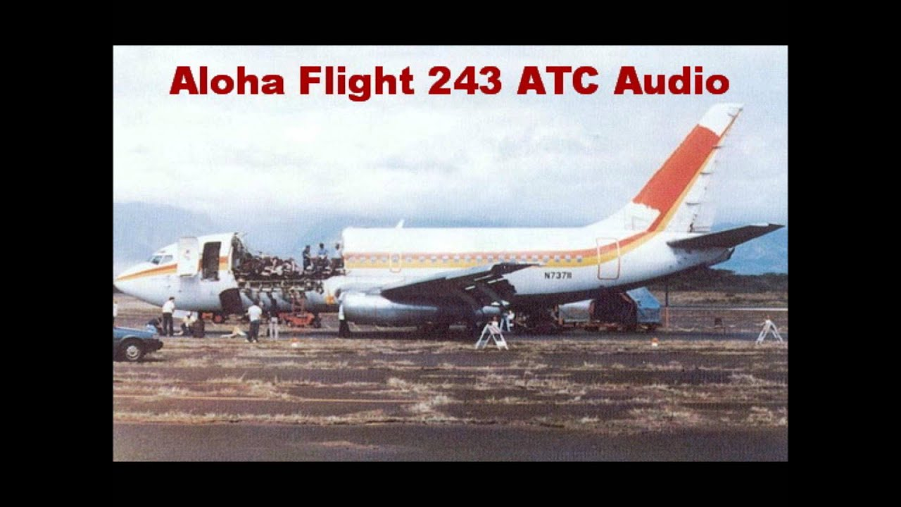 Aloha Airlines Flight 243 Boeing 737 1988 Aircraft