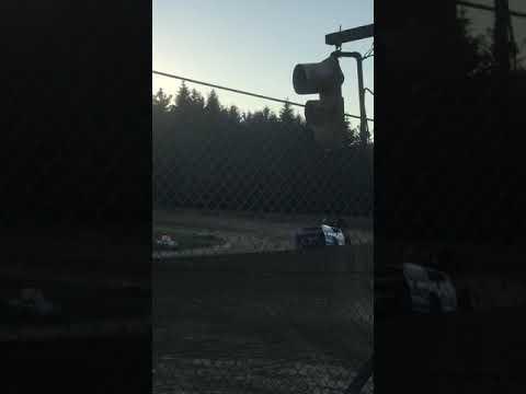 Elkins Raceway dirt track in Kerens, West Virginia, USA