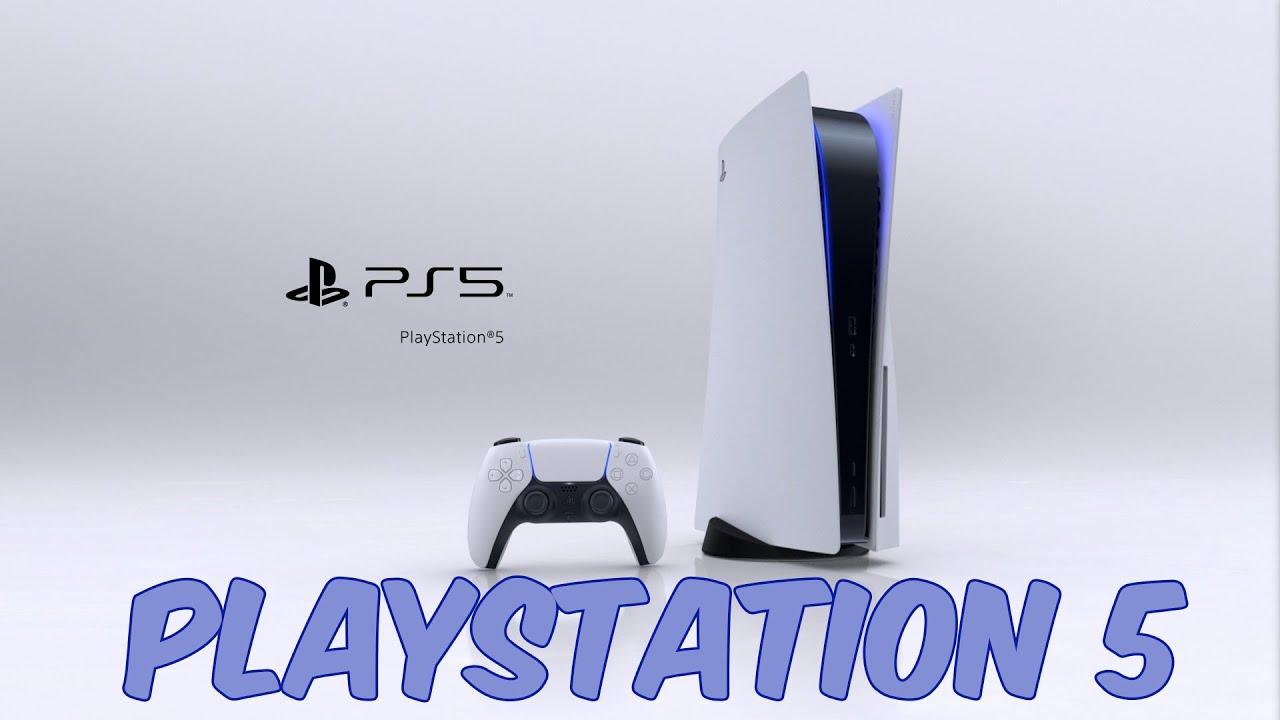 Внешний вид консоли PlayStation 5