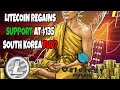 Litecoin Regains Support At $135, As Markets React To S. Korea Investigation, Mt.Gox Sell-Off
