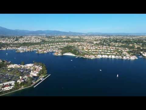 Lake Mission Viejo  Drone View