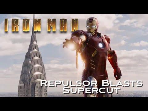 Iron Man Repulsor Blasts Supercut