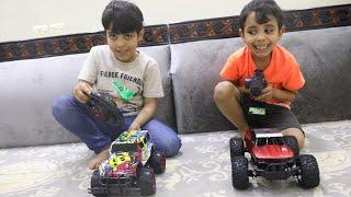 الياس وزياد يتسابقون بالسيارات الغريبة !