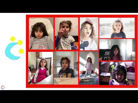 Mahe Bolande Asemooni 🌜 by Pardis for Children Music Class Badoom