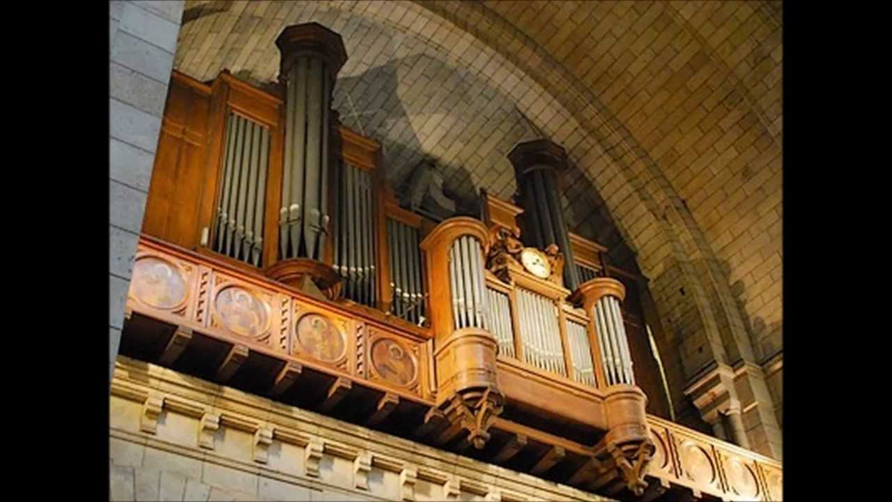 Daniel Roth Three improvisations at the Sacré Coeur ...