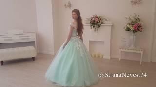 Свадебное платье цвета тиффани  / мятное / зеленое. Свадебное платье в Челябинске