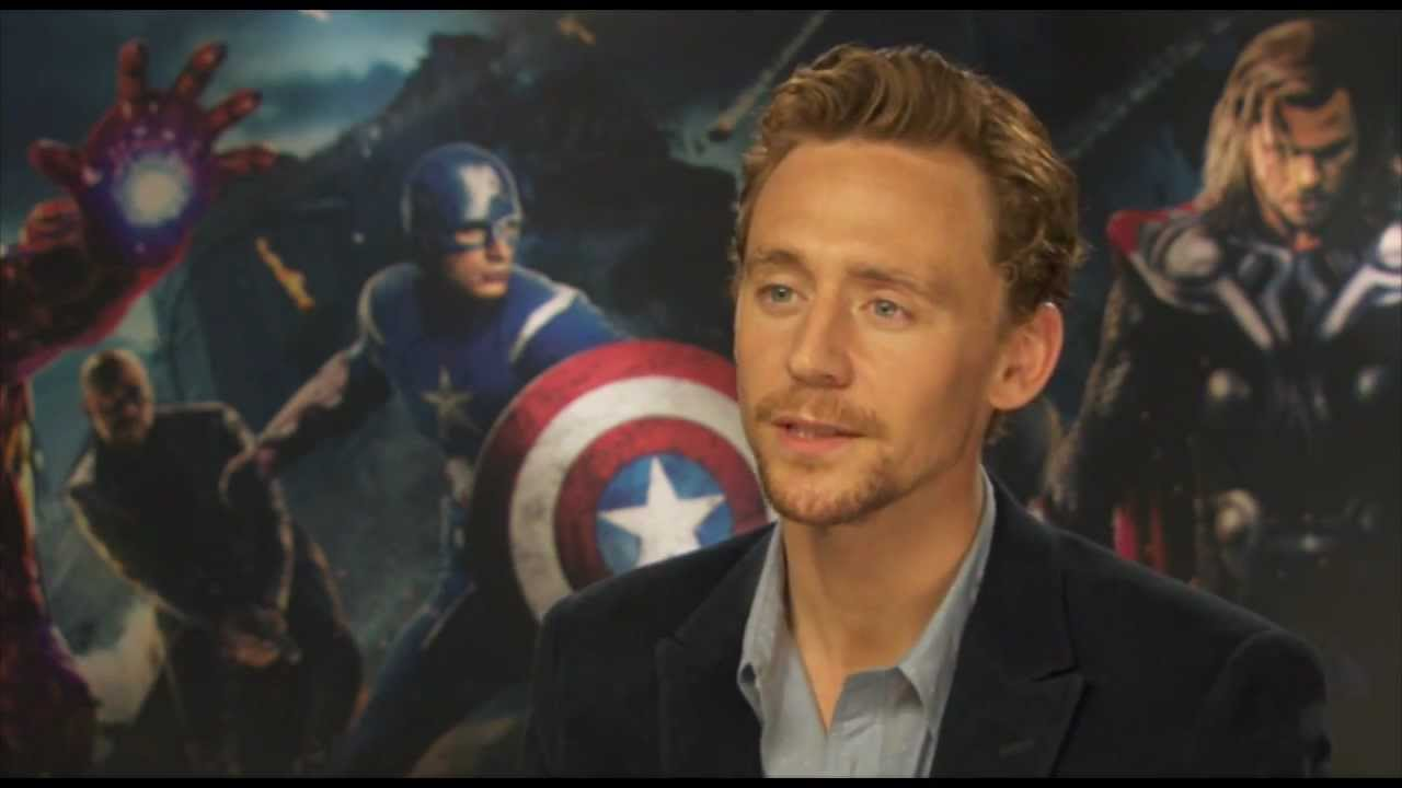 AVENGERS Interview - Tom Hiddleston talks about playing ...