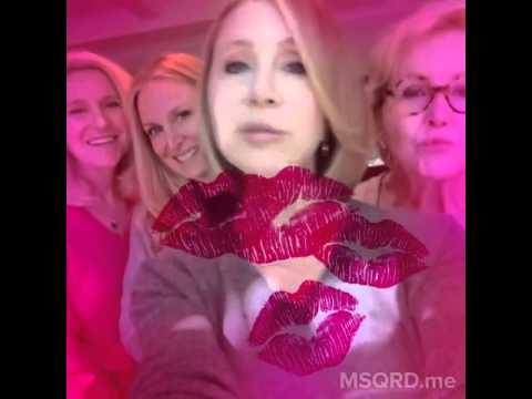 Fox 11 Reporter Lisa Breckenridge Blowing Kisses