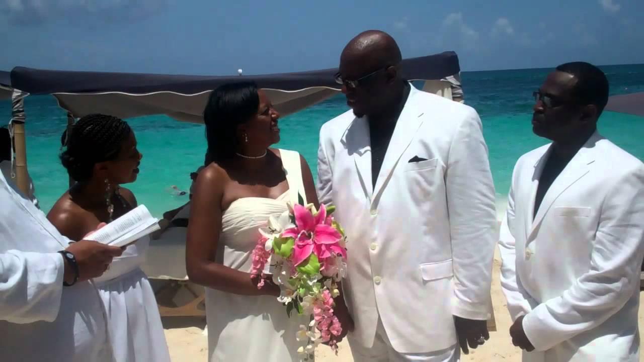 Linda And James Willis Wedding Ceremony In Nau Bahamas