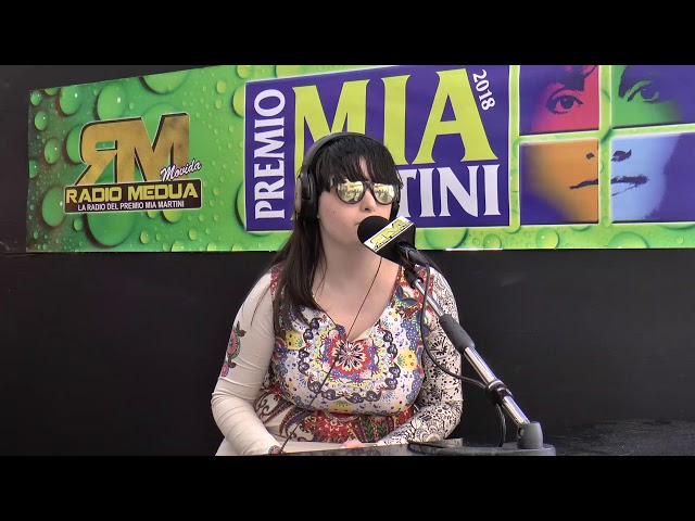 CRISTINA SIMONELLI intervista su Radio Medua