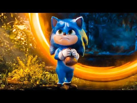 Sonic The Hedgehog Baby Sonic Movie Clip 1 10 2020 Hd Youtube
