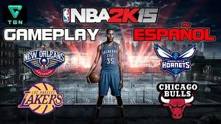 NBA 2K15 Gameplay Español