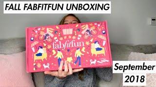 UNBOXING THE FALL 2018 FABFITFUN BOX | Tia Lynn