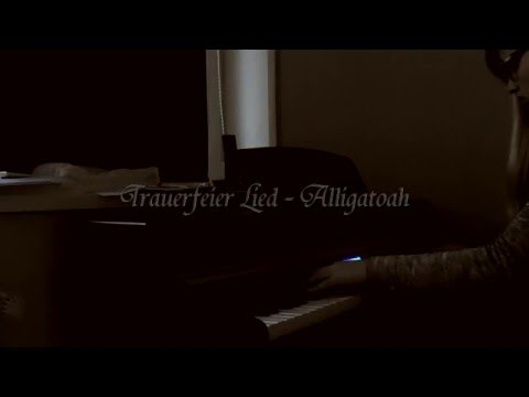 trauerfeier lied alligatoah piano youtube. Black Bedroom Furniture Sets. Home Design Ideas
