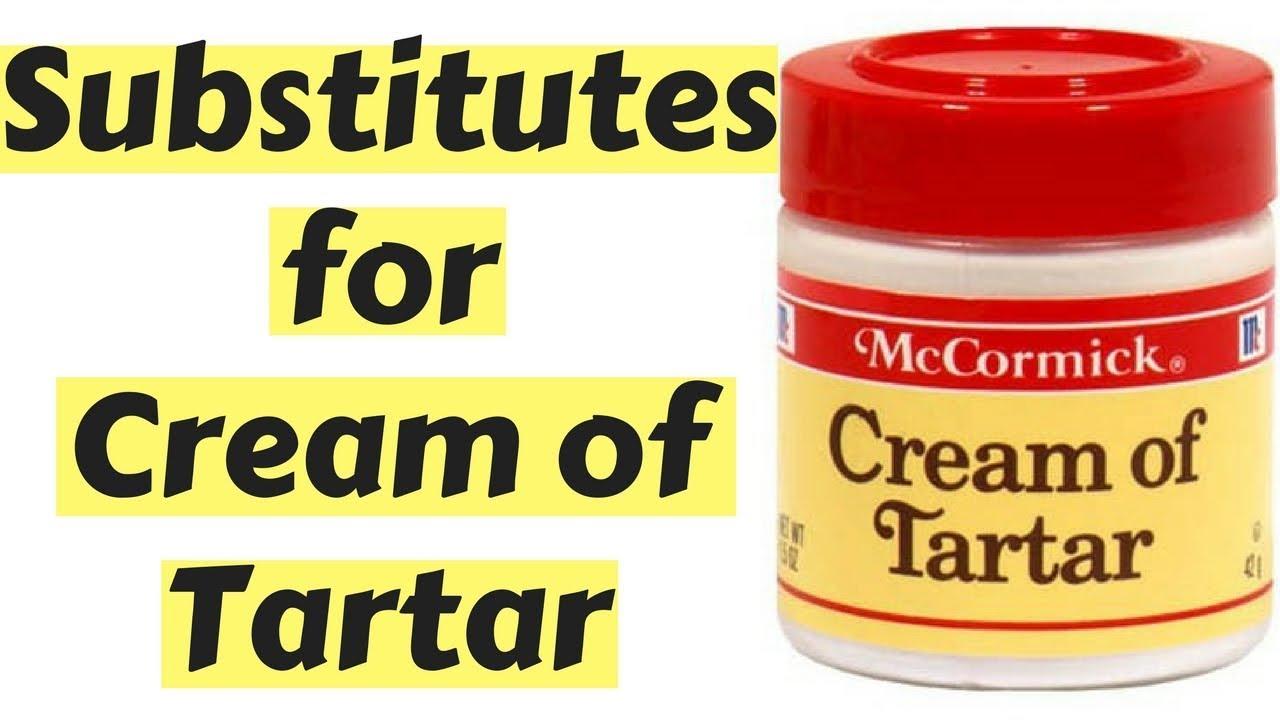 The 6 Best Substitutes for Cream of Tartar