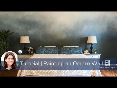 Painting an Ombré Wall - Speedy Tutorial #27