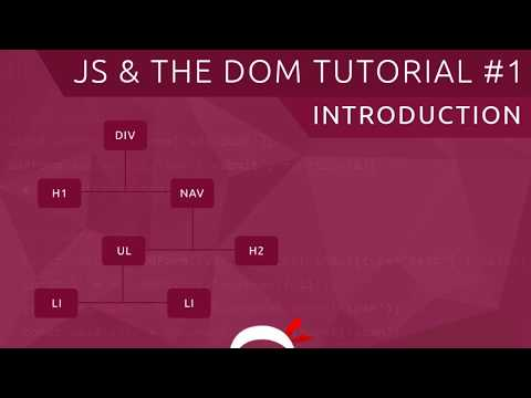 JavaScript DOM Tutorial #1 - Introduction