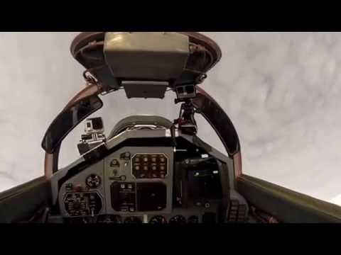 Ιnstrumental rock - Woman fly in MiG 29