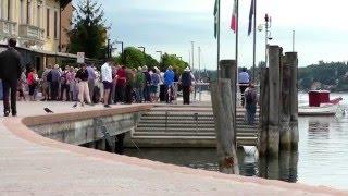 Salo, größte Stadt am Westufer des Gardasee.