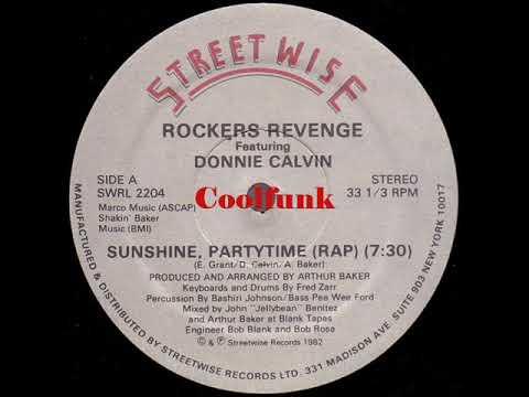"""Rockers Revenge Feat. Donnie Calvin - Sunshine, Partytime (Rap) """"12 inch 1982"""""""