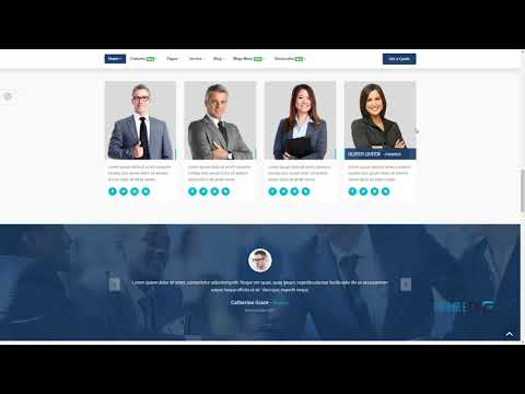 Consulting Finance Business - Consulting Pro        | Free Template