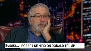 De Niro Says 'Narcissistic' Trump Has 'Debased' Office