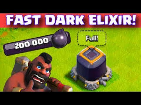 Clash of Clans Tamil|அதிக டார்க் Elixir|Easy tips