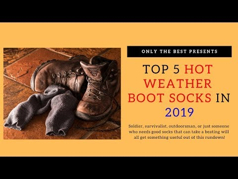 Top 5 Hot Boot Socks for Men in 2019 - The 5 Best Hot Weather Boot Socks for Work Boots and Hiking
