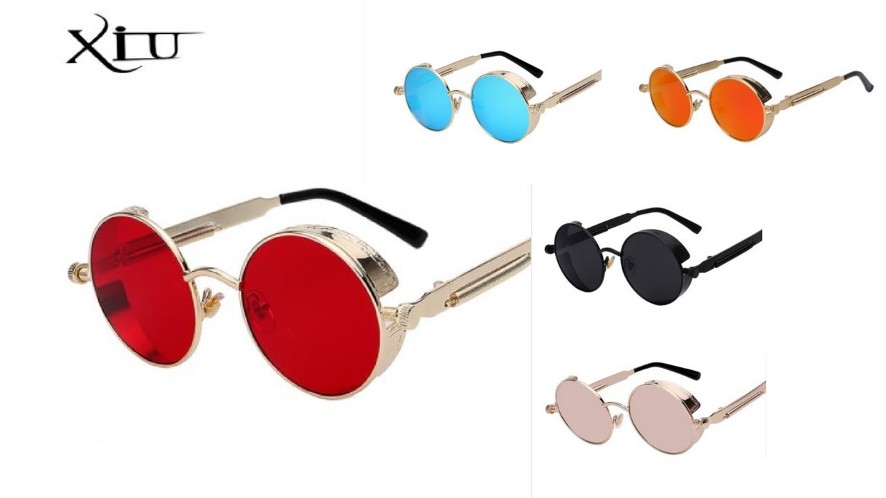 e89c0d6c4c800 Óculos de Sol Masculino Xiu Oem Importado Vintage Retro Frete Grátis ...