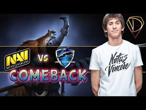 Dendi Magnus and great comeback! Na'Vi vs Vega (Game 2) @TI5 Quals