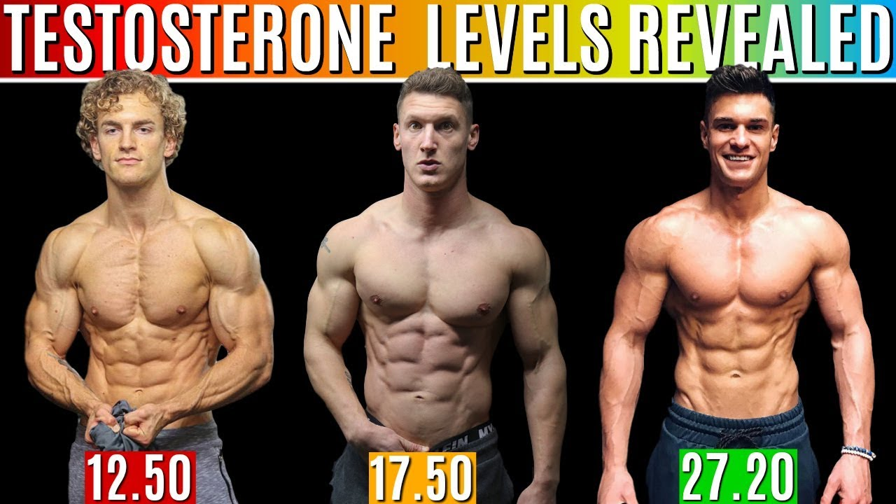 REAL Testosterone Levels REVEALED | How to Increase