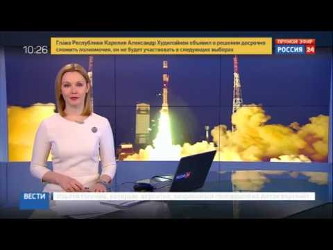 RUSSIAN media on ISRO 104 satellite launch
