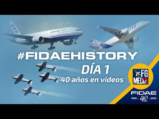 FIDAEHISTORY DÍA 1 - 40 AÑOS DE FIDAE EN VIDEOS