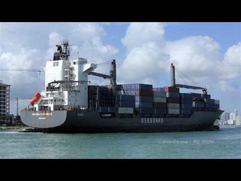 Seaboard Marine | HANSA AUGSBURG arrives in Miami