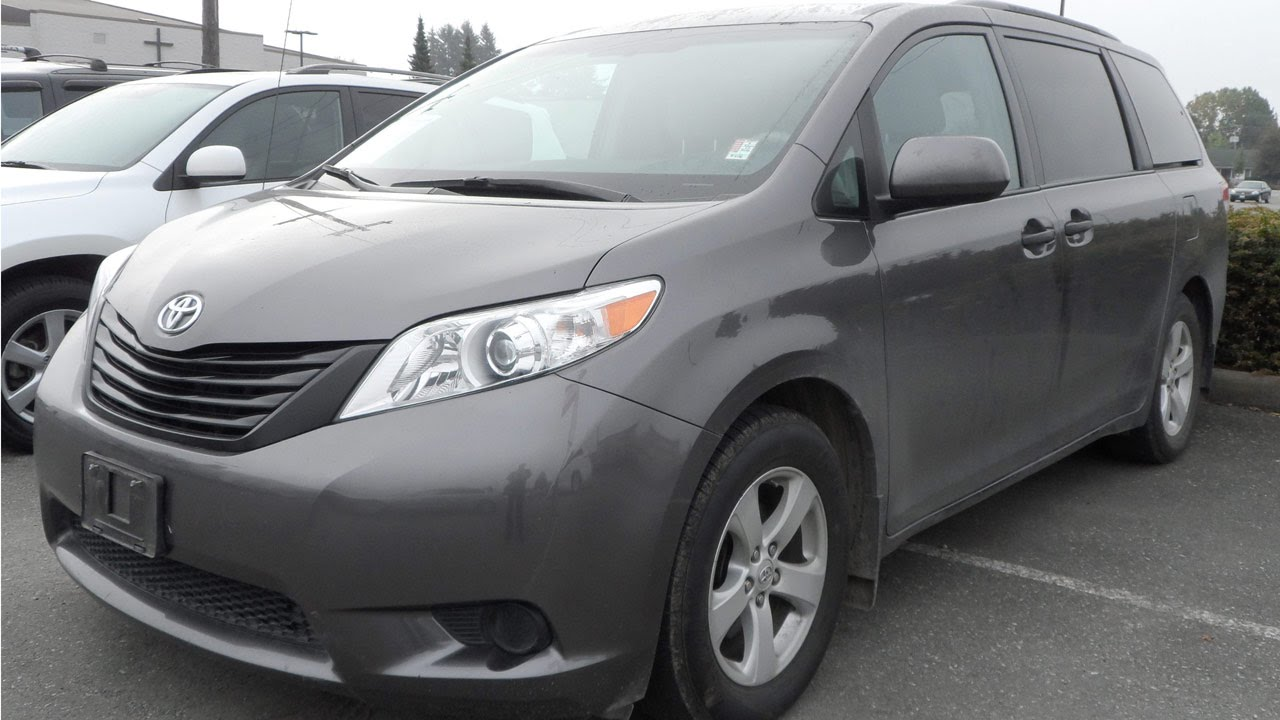 sold 2011 toyota sienna ce preview for sale at valley toyota scion in chilliwack b c. Black Bedroom Furniture Sets. Home Design Ideas