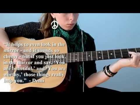 Warrior - Demi Lovato (guitar cover with quotes)
