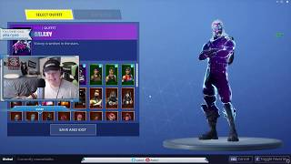RECEIVING THE GALAXY SKIN!!!!!!! W/ IN-GAME FOOTAGE!! Fortnite battle royale
