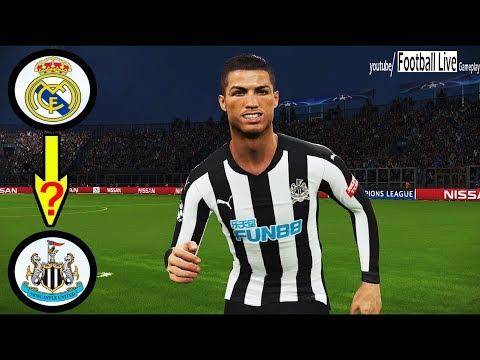 CRISTIANO RONALDO going to Newcastle United? | Newcastle vs Arsenal | UEFA champions league PES 2018