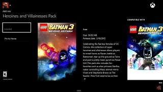 Lego Batman 3: Beyond Gotham   Heroines And Villainesses Pack Available Now!