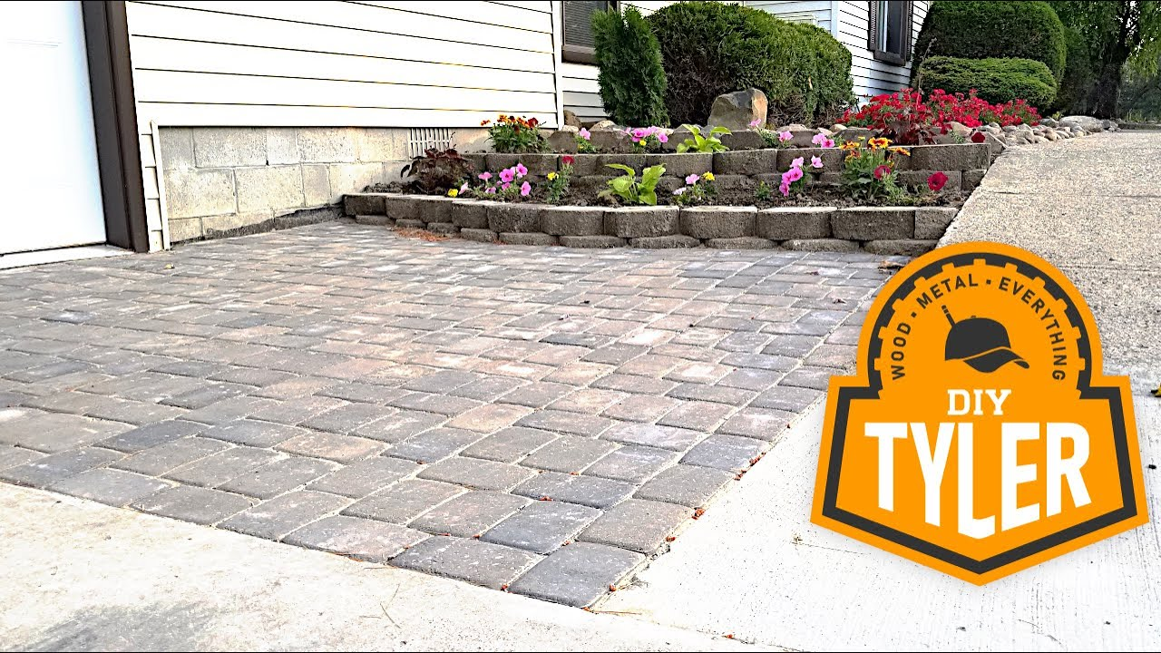 how to lay a paver patio like a pro