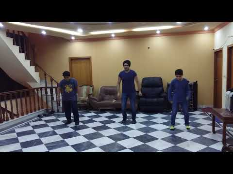 Pooh dance (NUCH PUNJABAN) with azan and aiez